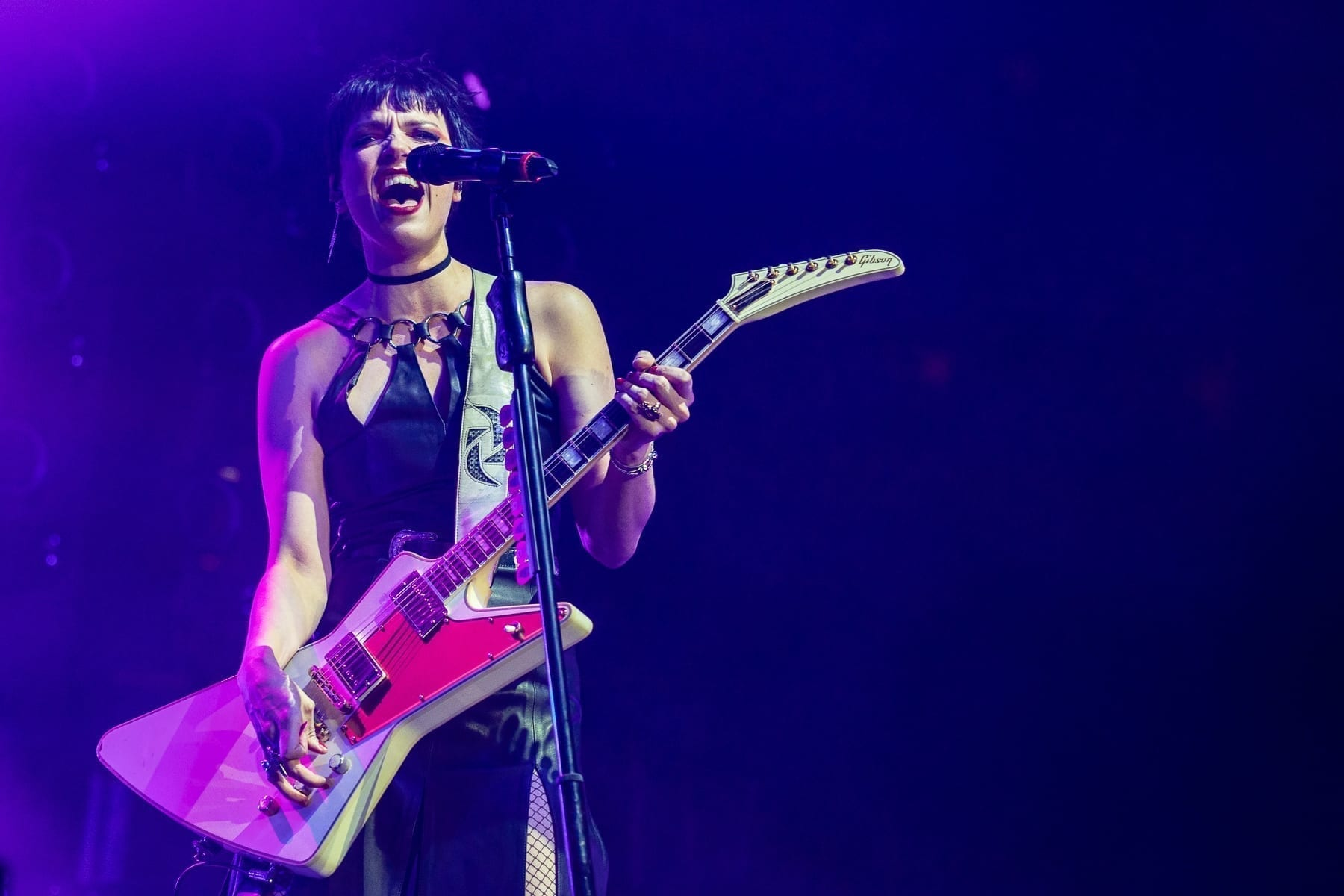 Halestorm performs at Ted Constant Convocation Center, Norfolk, Virginia, USA