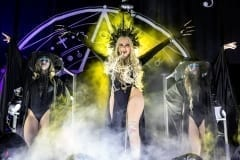 NORFOLK,VA/USA– NOVEMBER 17, 2018: In This Moment perform at the Ted Constant Convocation Center in Norfolk, VA